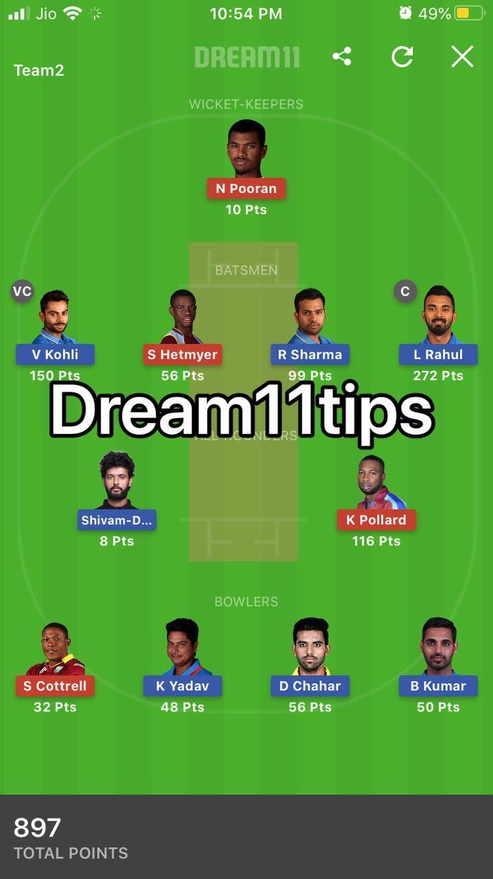 dream 11 tips
