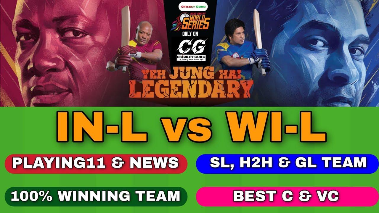 india l vs wi l dream11