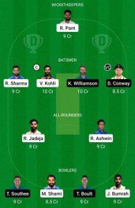 IND vs NZ Dream11 Prediction