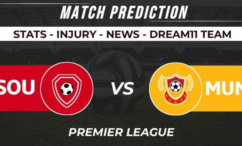 SOU vs MUN Dream11 Prediction